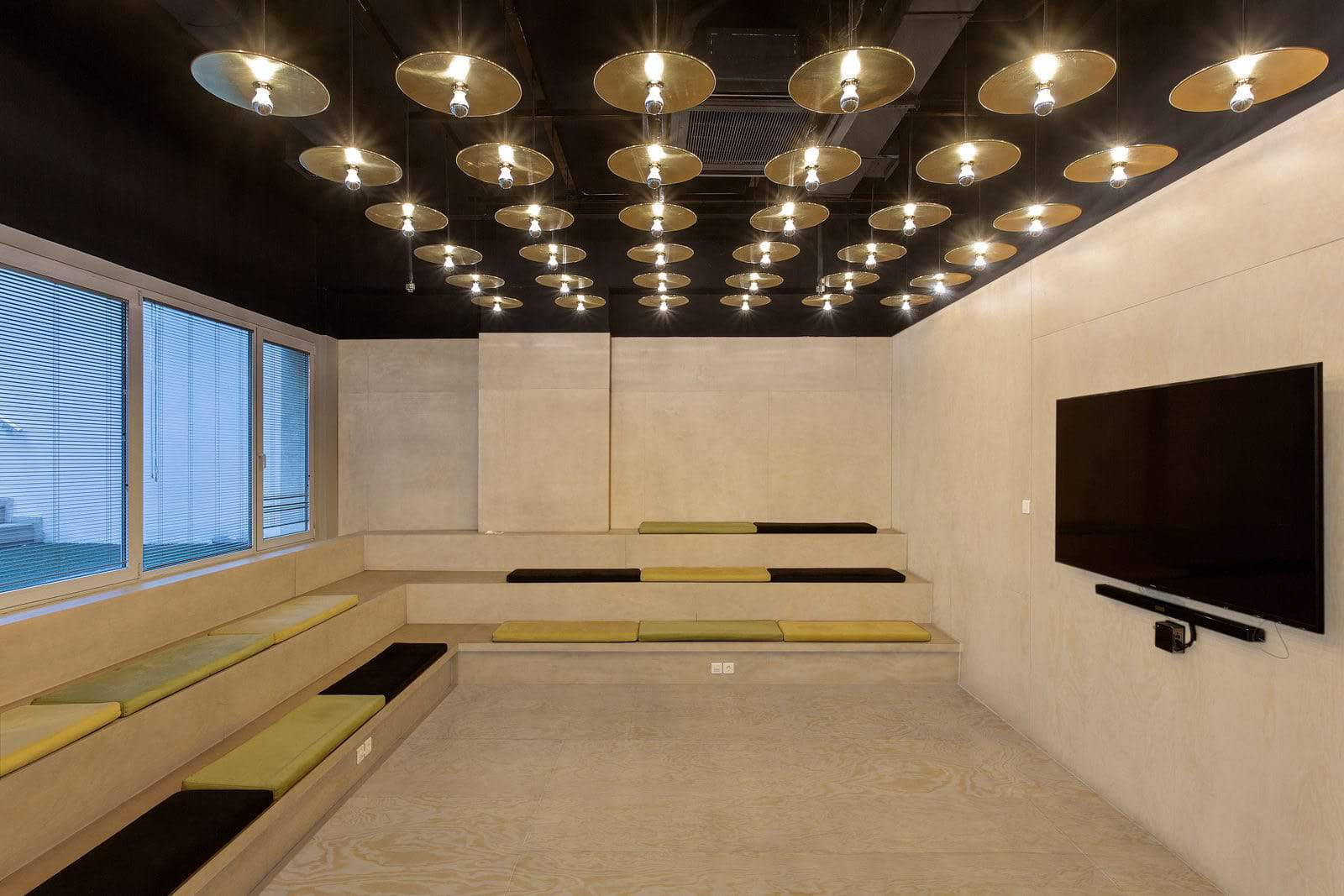 Meeting Room / Video Room with tiered seating